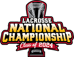 2024 Lacrosse National Championship logo
